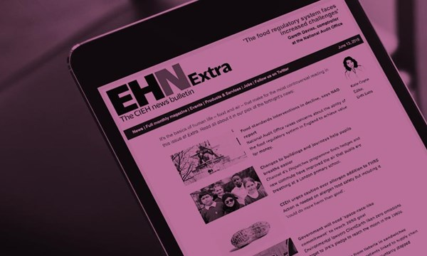 EHN Extra shown on a tablet