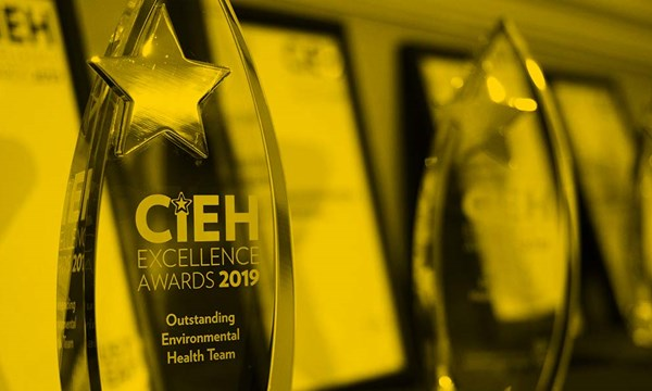 CIEH Awards trophy