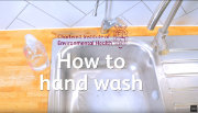 How to hand wash