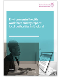 Environmental health workforce survey report cover